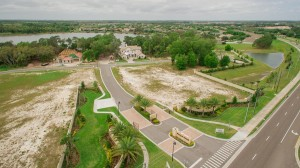 Sawyer Sound Windermere new homes - aerials 1