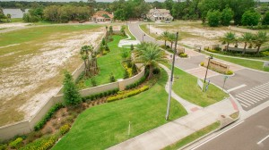 Sawyer Sound Windermere new homes - aerials 2