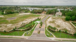 Sawyer Sound Windermere new homes - aerials 3